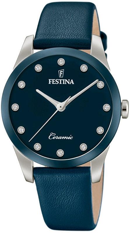 Zegarek Festina F20473-2 Ceramic - CENA DO NEGOCJACJI - DOSTAWA DHL GRATIS, KUPUJ BEZ RYZYKA - 100 dni na zwrot, możliwość wygrawerowania dowolnego tekstu.