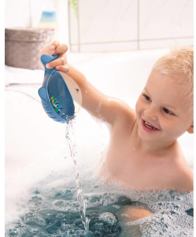 Zabawka do wody Niebieski Wielorybek HB302672-Haba, akcesoria do kąpieli