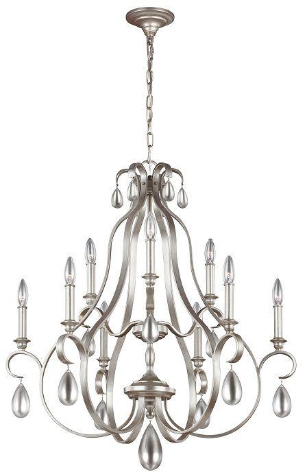Żyrandol Dewitt FE/DEWITT9 Feiss dekoracyjna oprawa w klasycznym stylu