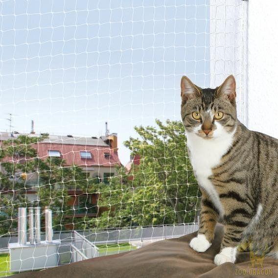 TRIXIE Siatka ochronna na balkon dla kota czarna 2x1,5m DLA ZAMÓWIEŃ + 99zł GRATIS!