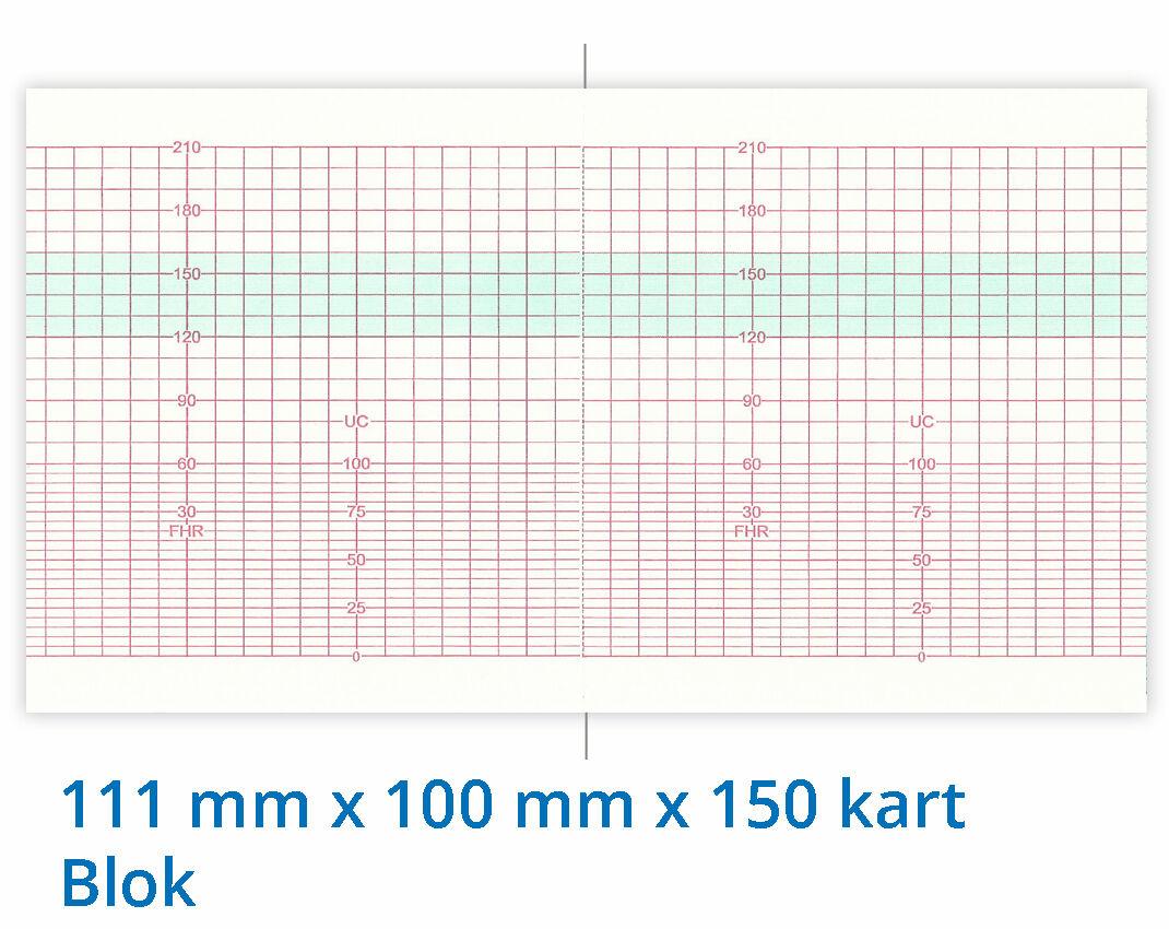 Papier termiczny do KTG Goldway UT-3000 111mm x 100mm x 150kart