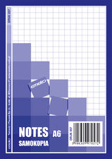 Druk Notes samokopiujący A6 80 kart