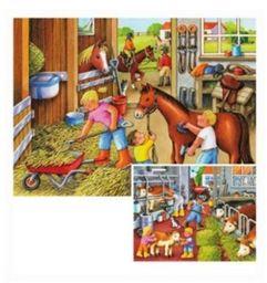 Ravensburger - Sceny, 2 x 20 części puzzli