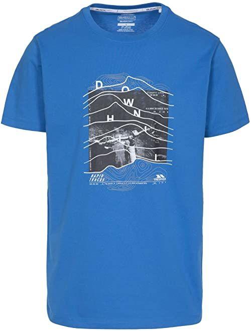 Trespass Downhill T-shirt dla mężczyzn XS niebieski