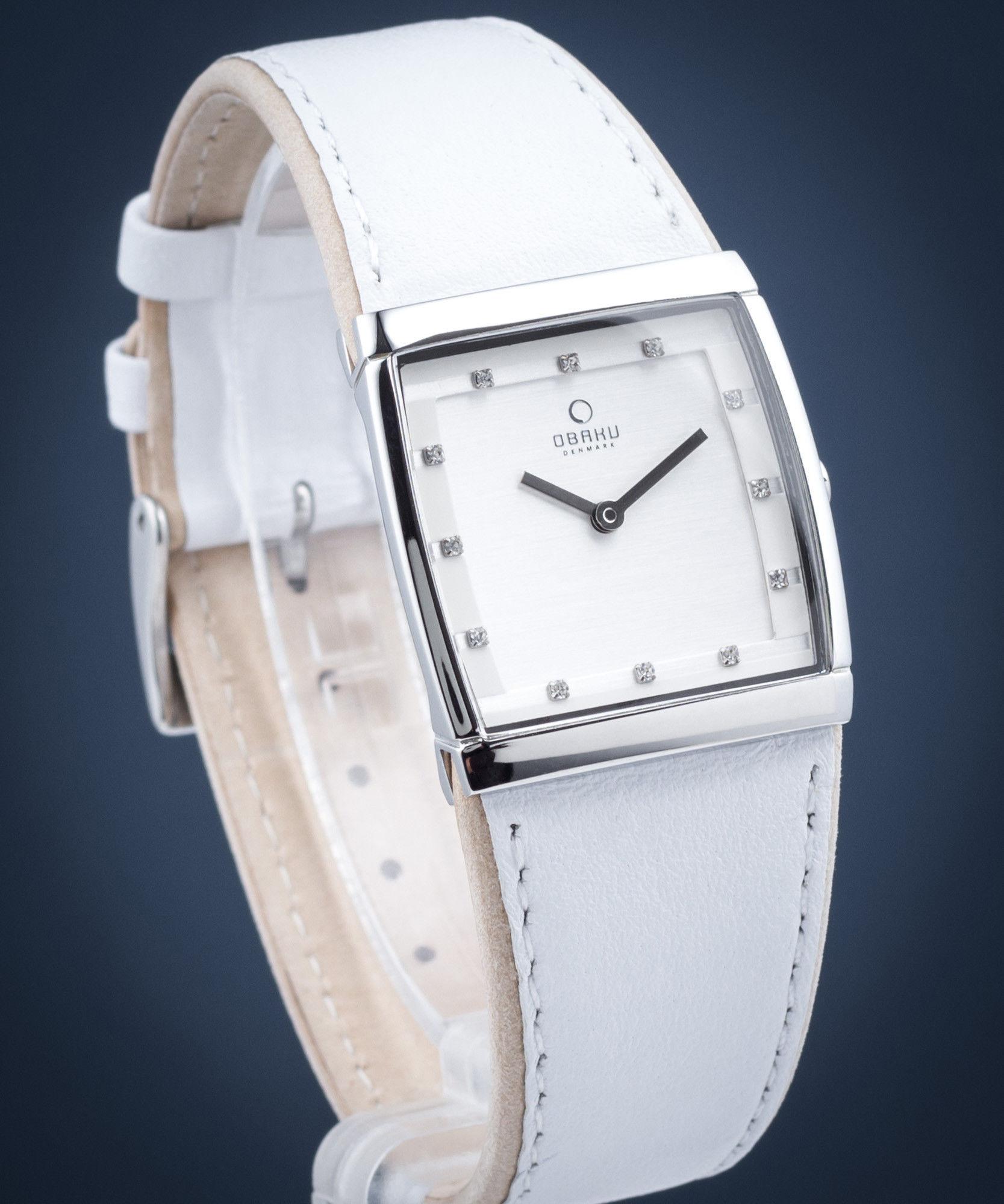 Zegarek Obaku Denmark V102LCCRW LUND LILLE - CENA DO NEGOCJACJI - DOSTAWA DHL GRATIS, KUPUJ BEZ RYZYKA - 100 dni na zwrot, możliwość wygrawerowania dowolnego tekstu.