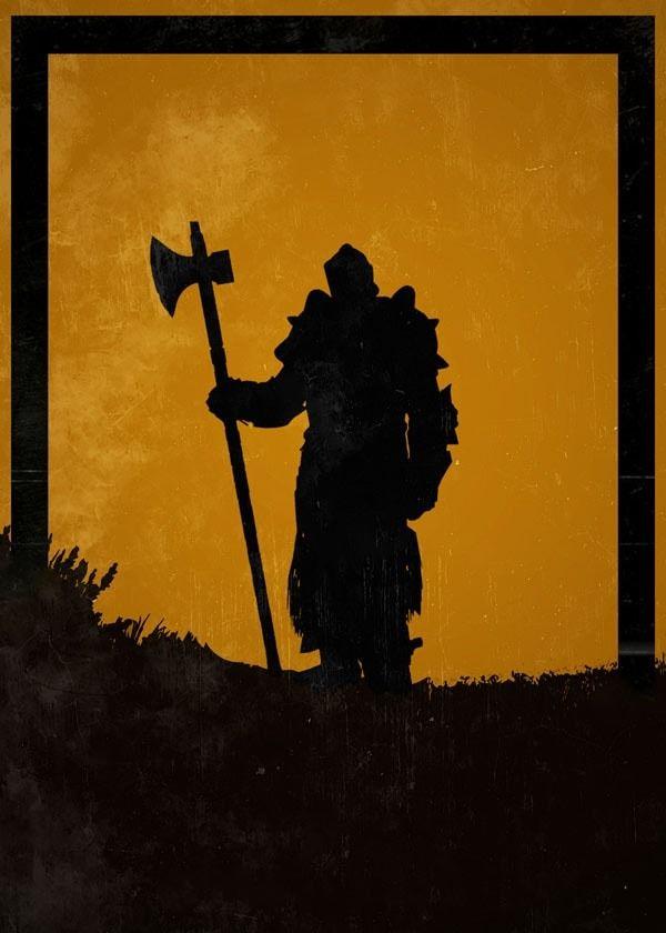 For honor - lawbringer - plakat wymiar do wyboru: 61x91,5 cm