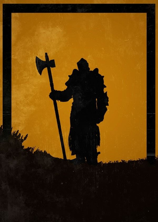 For honor - lawbringer - plakat wymiar do wyboru: 70x100 cm
