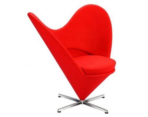 Fotel Serce - inspirowany proj. Heart Cone