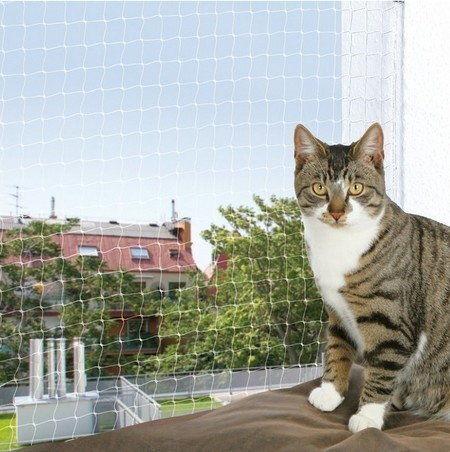 TRIXIE Siatka ochronna na balkon dla kota bezbarwna 2x1,5m DLA ZAMÓWIEŃ + 99zł GRATIS!