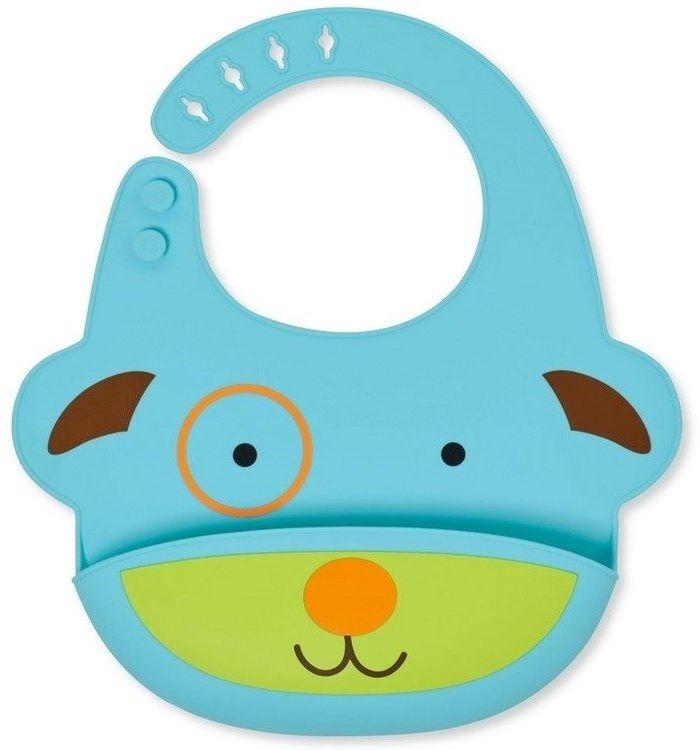 Silikonowy śliniak Zoo Pies 232203-Skip Hop, akcesoria dla dzieci