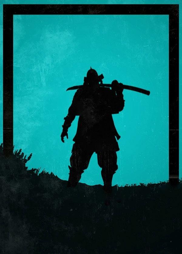 For honor - kensei - plakat wymiar do wyboru: 20x30 cm
