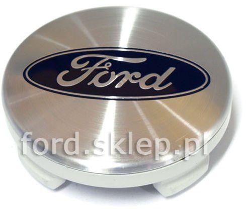 kołpak felgi aluminiowej (dekielek) Ford - 55,00 mm SREBRNY