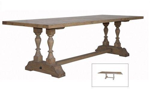 Stół z przedłużkami 180/290x100