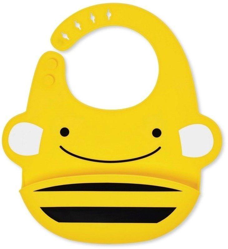 Silikonowy śliniak Zoo Pszczoła 232205-Skip Hop, akcesoria dla dzieci