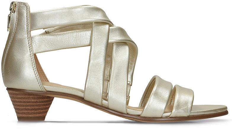 Sandały damskie Clarks Mena Silk złote261389304