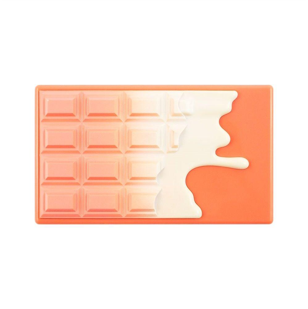 Makeup Revolution Paletka do konturowania twarzy Mini Chocolate Peach & Glow 11g