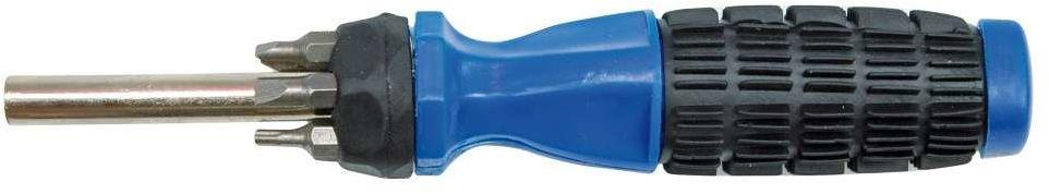 Wkrętak z gumową rękojeścią i wymiennymi grotami kpl.7szt. Vorel 65041 - ZYSKAJ RABAT 30 ZŁ