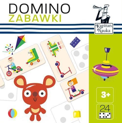 Kapitan Nauka Domino obrazkowe Zabawki ZAKŁADKA DO KSIĄŻEK GRATIS DO KAŻDEGO ZAMÓWIENIA