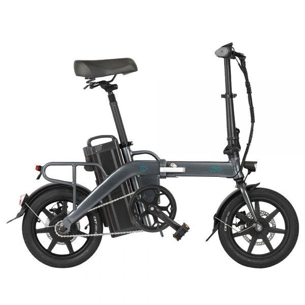 Długodystansowy Składany Rower Elektryczny FIIDO L3 350W 14 cali  23,2Ah, 130KM