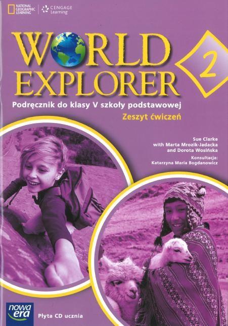 World Explorer 2. Klasa 5, szkoła podstawowa. Język angielski. Zeszyt ćwiczeń (+ płyta CD)