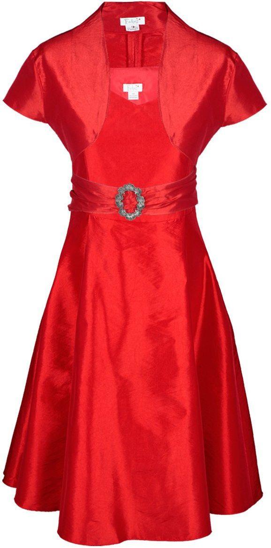 Sukienki Sukienka Suknie FSU135 CZERWONY