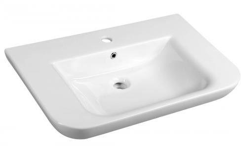 DORI Umywalka ceramiczna 70x48 cm FS1D1