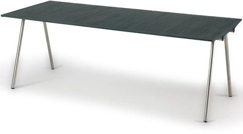 Skagerak OCEAN Stół Prostokątny 201 cm Czarny