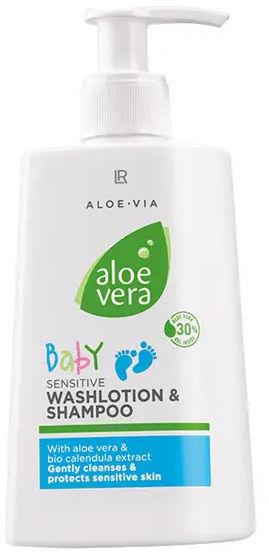 LR Baby Emulsja myjąca i szampon aloesowy