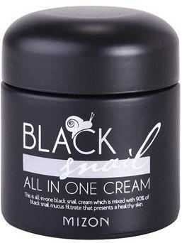 Mizon Black Snail All in One krem do twarzy z ekstraktem ze śluzu z ślimaka 90% 75 ml + do każdego zamówienia upominek.