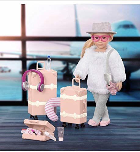 Lori LO31172Z 15 cm lalka W/bagaż i akcesoria, leighton