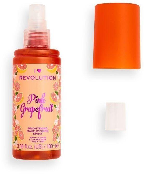 Make Up Revolution IHR Fixing Spray Grapefruit rozjaśniający