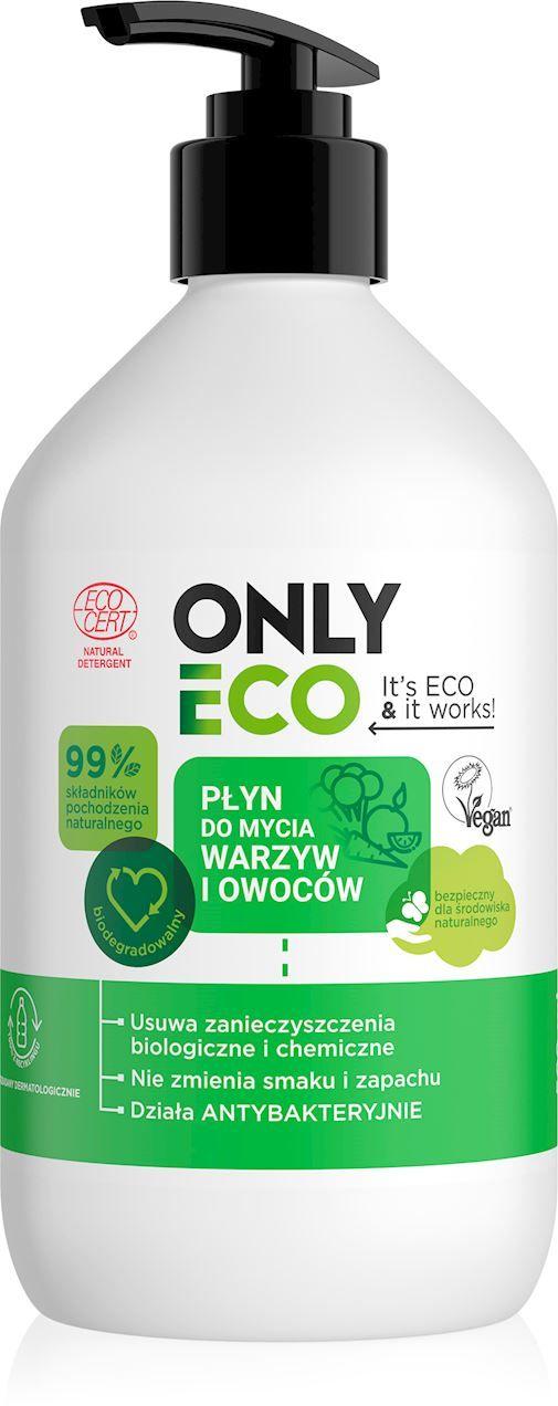 Płyn do mycia owoców i warzyw eco 500 ml - only eco