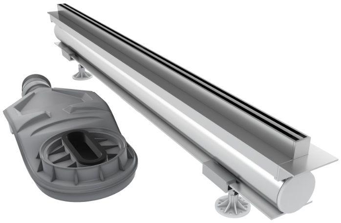 Schedpol Schedline odpływ liniowy z maskownicą thin line 90x1,2cm SOL-90012