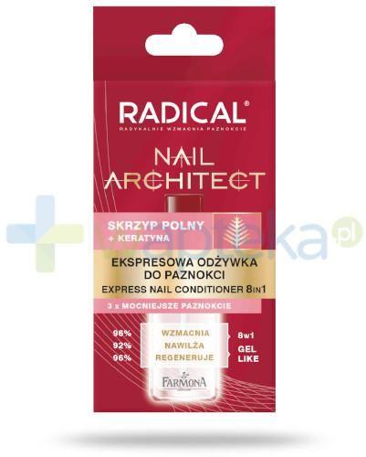 Farmona Radical Nail Architect ekspresowa odżywka do paznokci 8w1 12 ml