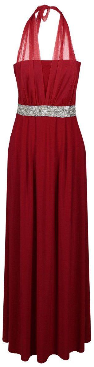 Sukienki Sukienka Suknie FSU111 CZERWONY