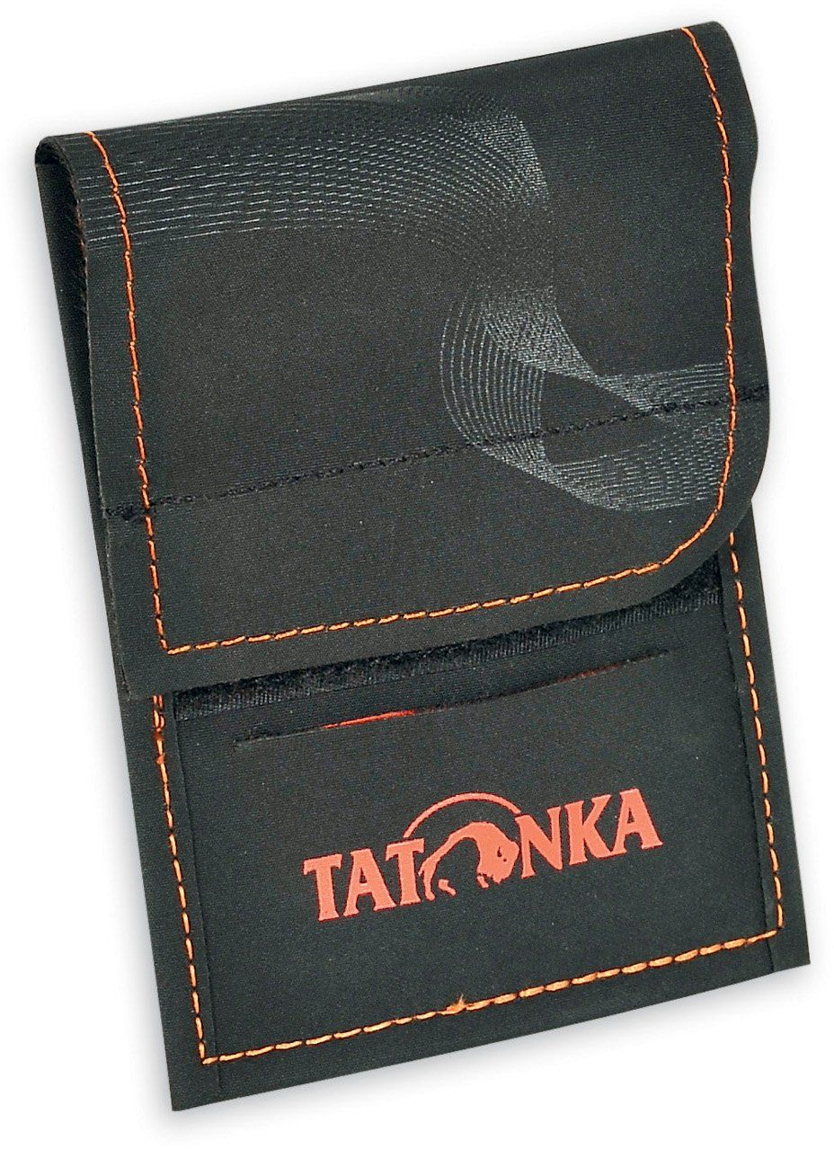 Tatonka portfel HY Neck, czarny/pomarańczowy, 2883