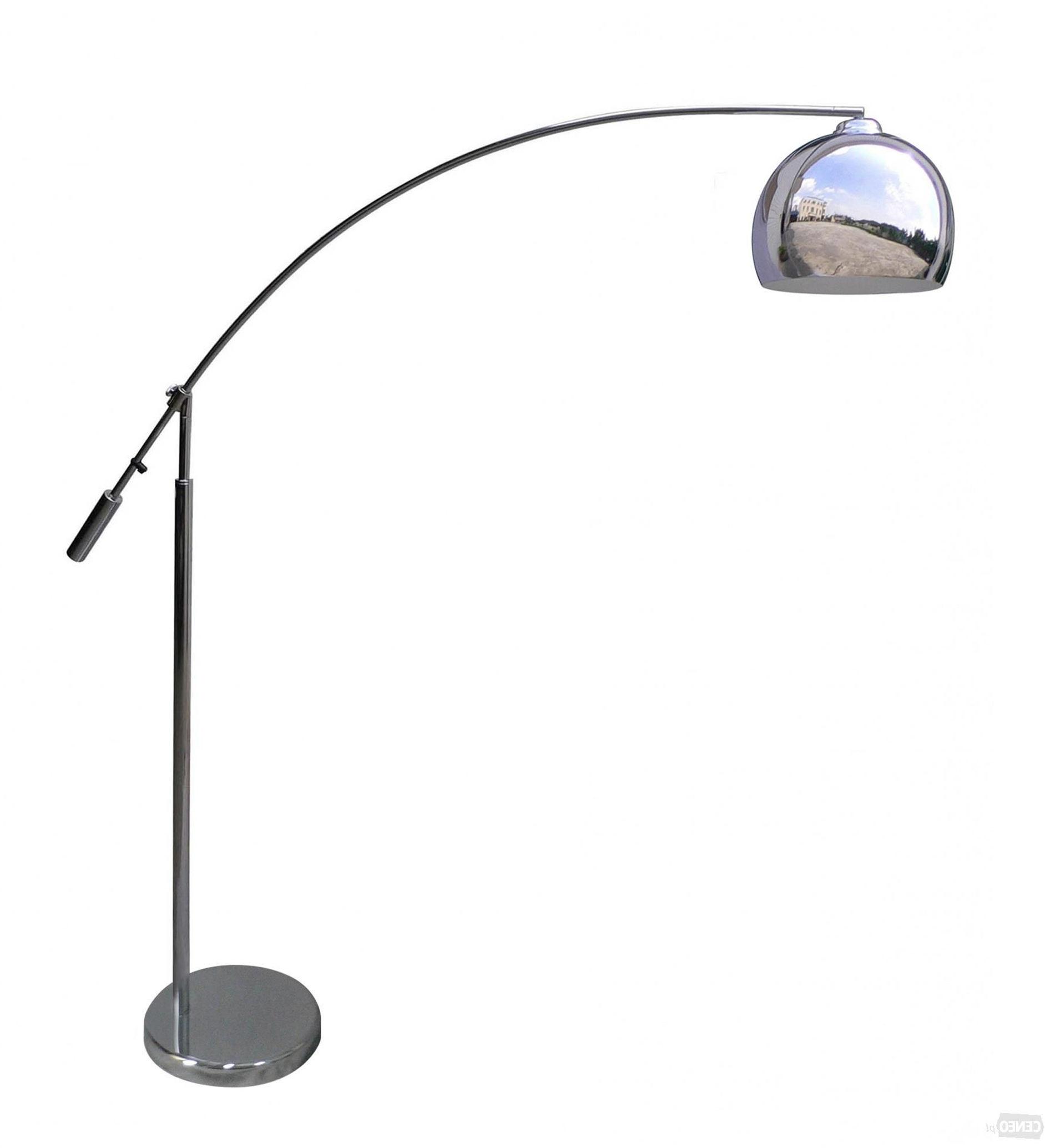 Zuma Line TS-061121M MANHATTAN lampa podłogowa chrom srebrna 1xE27 30cm