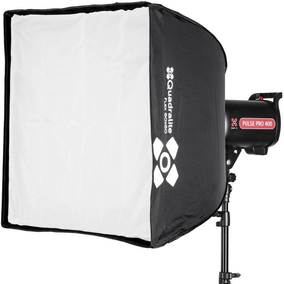 Softbox składany Quadralite Flex 60x60cm - WYSYŁKA W 24H