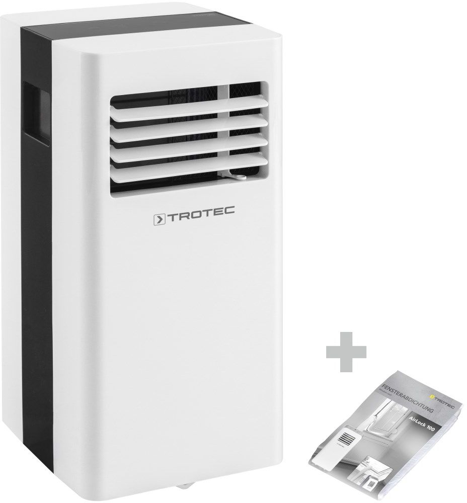 Klimatyzator przenośny PAC 2600 X + AirLock 100