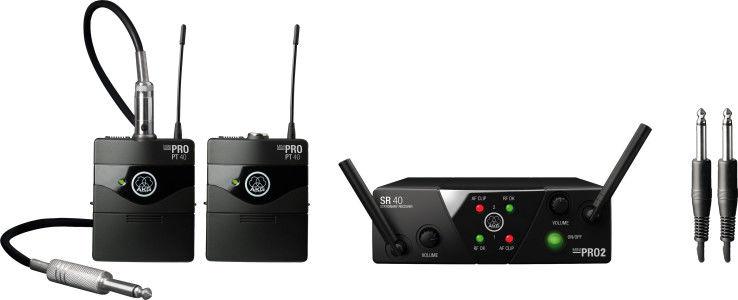 AKG WMS40 Mini2 Instrumental Set BD US25A/C (537.500-539.300) - wireless systemI 30 DNI NA ZWROT I EKSPRESOWA WYSYŁKA !!