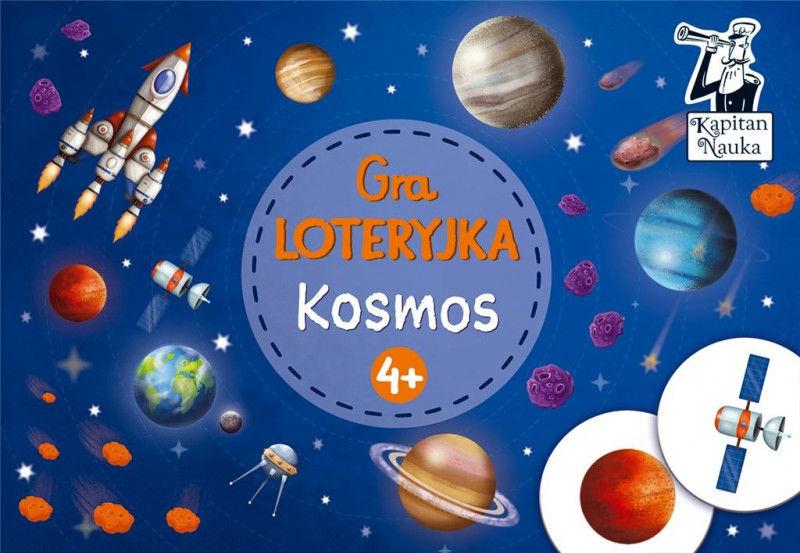 Kapitan Nauka Gra Loteryjka Kosmos 4+ ZAKŁADKA DO KSIĄŻEK GRATIS DO KAŻDEGO ZAMÓWIENIA