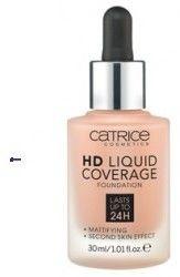 Catrice Podkład HD Liquid Coverage 040 Warm Beige 30ml