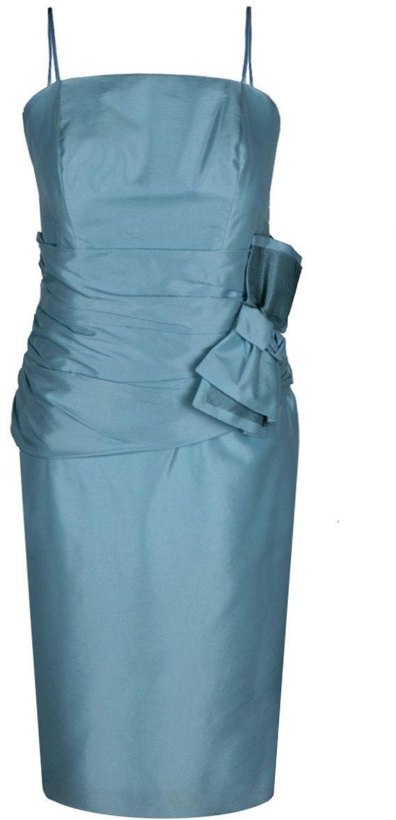 Sukienka FSU202 BŁĘKITNY CIEMNY