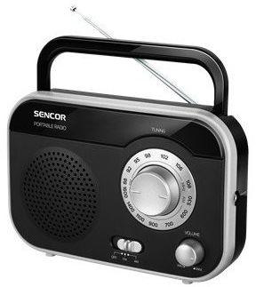 Sencor SRD 210 B radio przenośne