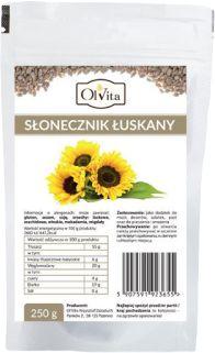 Słonecznik Łuskany Olvita, 250g