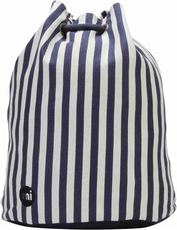 worek na plecy MI-PAC - Swing Bag Seaside Stripe Blue (008)