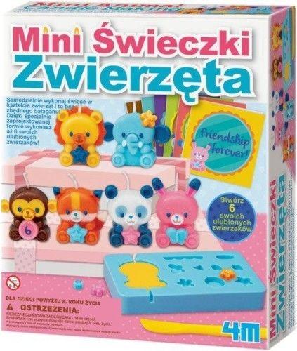 Mini świeczki - Zwierzęta