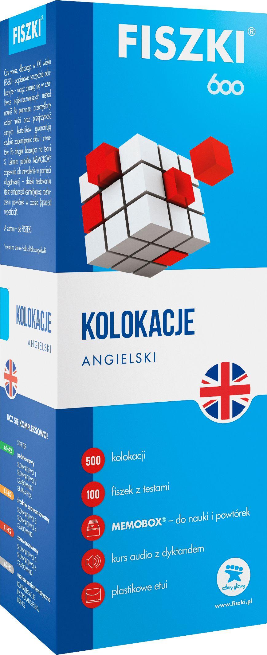FISZKI - angielski - Kolokacje