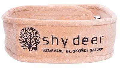 Opaska kosmetyczna welurowa Shy Deer