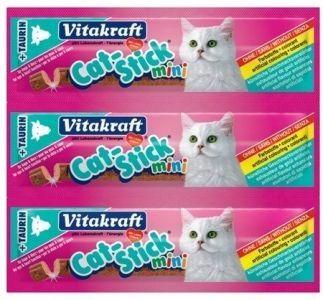 Vitakraft Cat Stick Mini Kaczka i Królik 3x6g
